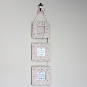 Shabbychic 3-tiers picture frame